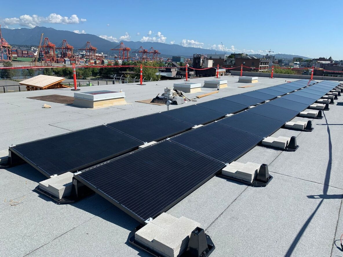 rooftop solar vancouver